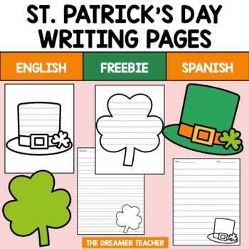 BILINGUAL ST. PATRICK´S DAY LITTLE BOOK (ENGLISH AND SPANISH). FREEBIE!