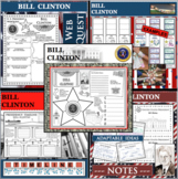 BILL CLINTON U.S. PRESIDENT BUNDLE Differentiated Research Project Biography