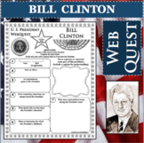 BILL CLINTON U.S. PRESIDENT WebQuest Research Project Biography