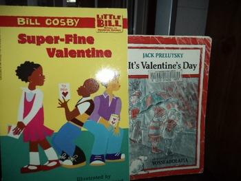 BILL COSBY SUPER FINE VALENTINE  ITS VALENTIN   (SET OF 2)