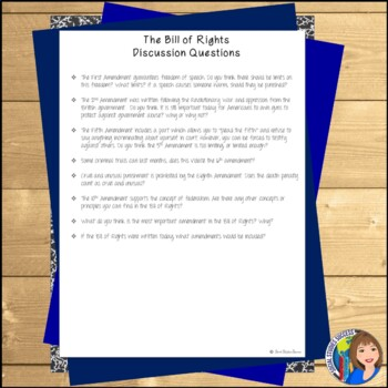 BILL OF RIGHTS Readings and Cartoon Notes