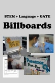 BILLBOARDS - Language + STEM + Advertising + GATE