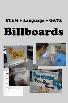 BILLBOARDS - Language + STEM + Advertising + GATE