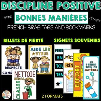 BILLETS DE FIERTÉ & SIGNETS SOUVENIRS  - Thème: BONNES MANIÈRES