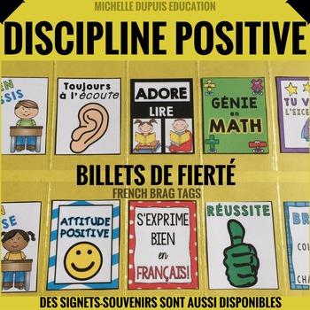 BILLETS DE FIERTÉ  - French Brag Tags  (236 PAGES)