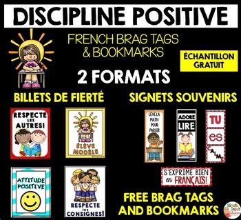 BILLETS de FIERTÉ & SIGNETS SOUVENIRS - French Brag Tags & Bookmarks FREE