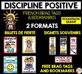 BILLETS de FIERTÉ & SIGNETS SOUVENIRS - French Brag Tags &