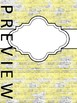 BINDER COVERS - BRICKS - EDITABLE