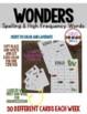 BINGO  1st Grade WONDERS  Spelling & High Frequency Word Unit 2