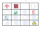 BINGO-2D and 3D Shapes