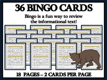 READING PASSAGES AND BINGO - Frontiersmen, Davy Crockett and the Alamo