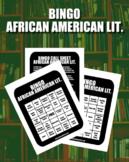 BINGO: African American Literature