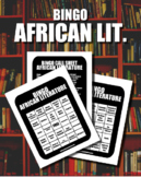 BINGO: African Literature