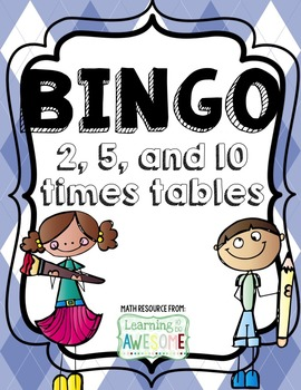 Times Tables Bingo BUNDLE