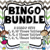 Times Tables Bingo BUNDLE