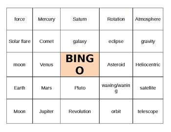 BINGO - Astronomy