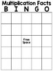 BINGO - Basic Multiplication Facts - FREEBIE!