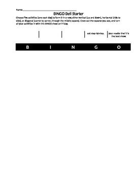 BINGO Bell Starter