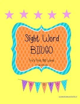 BINGO Bundle! Fry Words BINGO Games Set 1, 2, & 3 {Buy 2 Get 1 FREE!}