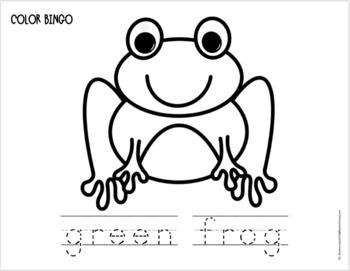 BINGO COLOR SET