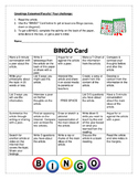 BINGO Card with Premade Activities for Staff Meetings & Pr