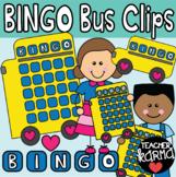 BINGO Clipart, Bingo Bus Templates