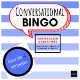 BINGO Conversacional (Present perfect focus) - Novice high