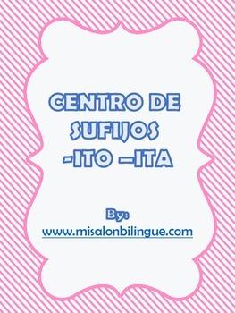 BINGO DE SUFIJOS -ITO, -ITA