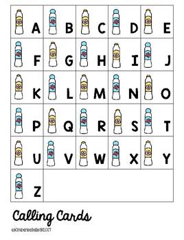BINGO DIY Alphabet