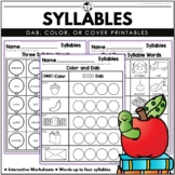 BINGO Dabbers Syllables