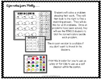 Multiplication Activity: Two Digit by One: Math Workshop: 4th-5th Grades