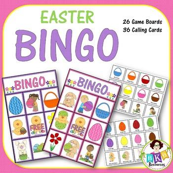 BINGO - Easter Bingo Game!