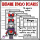 #dealsinOctober BINGO Editable Easy Fill With 3 Different