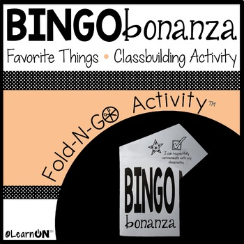 BINGO - Favorite Things!