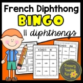 French Phonics Activities, Bingo, sons composes, feuilles
