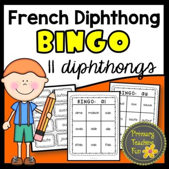 French Phonics Activities, Bingo, sons composes, feuilles de travail!