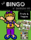BINGO: Fruits & Veggies   2x2