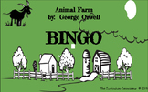 BINGO Game! Animal Farm by George Orwell