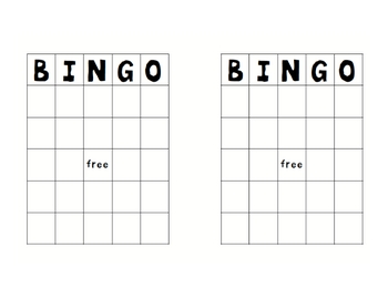 BINGO Game for Order of Operations