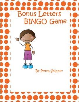 BINGO Game with Bonus Letters