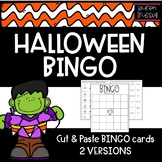 BINGO Halloween Edition