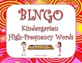 BINGO High-Frequency Words - Kindergarten