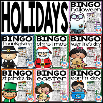 Holiday BINGO Bundle