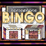 Homophone Grammar Activity Game: Bingo!
