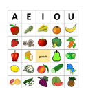 BINGO- Les fruits et les legumes