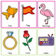 BINGO Letter-Sound Association Song | A-Z | Pocket Chart Cards | Smart Board
