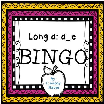 BINGO: Long a: a_e