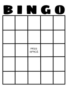 BINGO Math 10 More 10 Less
