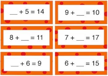 BINGO: Operations and Algebraic Thinking Style