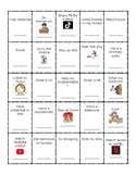 BINGO - PLANS FOR THE WEEKEND